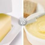 Margarina-mantequilla