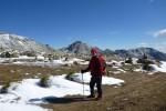 La Joya Feb2013 13 una planicie a la altura de 1655 metros, donde dejamos la pista forestal en si y comenzaremos el acercamiento al Arroyo Zapatero