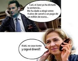 Urdangarin y Cristina