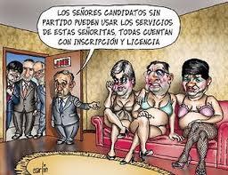 Politicos o mercenarios